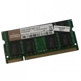2Go RAM PC Portable STAREX STT200SO0825-667A SODIMM DDR2 PC2-5300S 667MHz CL5