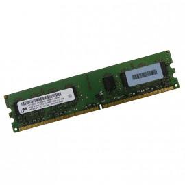2Go Ram PC MICRON MT16HTF25664AZ-800H1 240-PIN DDR2 PC2-6400U 800MHz 2Rx8 CL6
