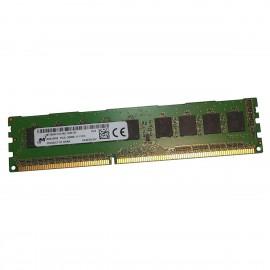 8Go Ram ECC Serveur Micron MT18KSF1G72AZ-1G6E1ZF PC3L-12800E DDR3 ECC 2Rx8 1.35v