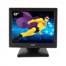 "Ecran 8"" Glancetron GT8-USB LCD TFT VESA Caisse Comptoir USB-B Affichage"