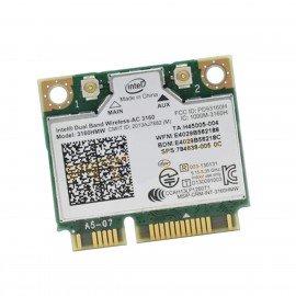 Mini-Carte Wifi Intel 3160HMV Dual Band Wireless-AC 3160 1000M-3160H PD93160H