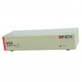 Video Splitter Pro LINDY 32572 4x VGA 450Mhz 2048x1536 NEUF