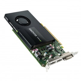 Carte NVIDIA Quadro K2200 00FC810 P2010 180-12010-1005-C01 4Go DisplayPort DVI-I