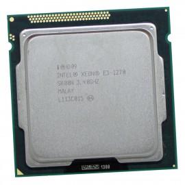 Processeur CPU Intel Xeon E3-1270 SR00N 3.40Ghz LGA1155 Quad Core Sandy Bridge