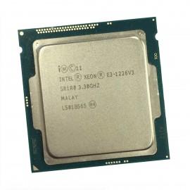Processeur CPU Intel Xeon E3-1226 V3 SR1R0 3.30Ghz LGA1150 Quad Core Haswell