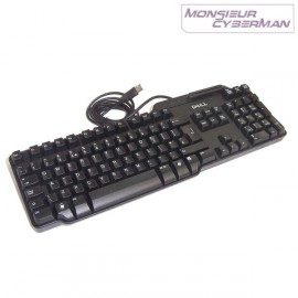 Clavier DELL Smartcard RT7D60 Usb Slim Azerty Lecteur de Carte Puces PC Pro