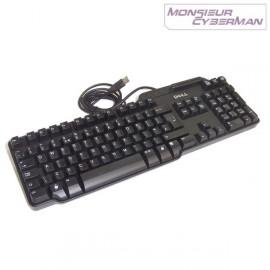 Clavier DELL Smartcard RT7D60 Usb Slim Azerty Lecteur de Carte Puces PC Pro