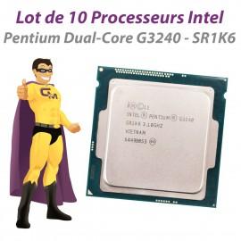 Lot x10 Processeurs CPU Intel Pentium G3240 SR1K6 3.1Ghz 3Mo FCLGA1150 Dual Core