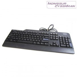 Clavier IBM SK-8820 AZERTY Ps/2 KB-0225 Pro Keyboard 89P8310 Noir Thinkcentre