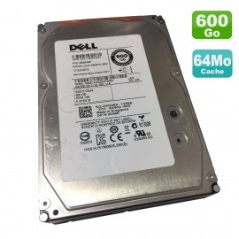 "Disque Dur 600Go SAS 3.5"" Dell HUS156060VLS600 0B24496 0W348K W348K 15K 6Gbps"