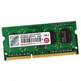 4Go RAM Transcend TS512MSK64W6H SODIMM DDR3 PC3L-12800S 1600Mhz 1Rx8 1.35v CL11