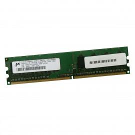 1Go RAM Micron MT8HTF12864AY-800E1 DDR2 PC2-6400U 800Mhz 1Rx8 DIMM 240-Pin CL6