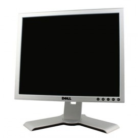 "Ecran Plat 17"" DELL 1708FPt Gris VGA DVI Hub USB Rotation 90° LCD Pied Pivotant"
