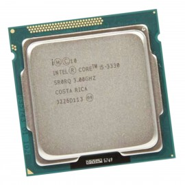 Processeur CPU Intel Core I5-3330 3Ghz 6Mo SR0RQ 5GT/s LGA1155 Quad Core