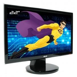 """Ecran PC Pro 22"""" ASUS VH222S LCD TFT TN WideScreen 16:9 VGA VESA 1920x1080"""