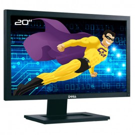 """Ecran Plat PC 20"""" DELL E2011Ht 0C2XM8 C2XM8 WideScreen DVI-D VGA 16:9 1600x900"""