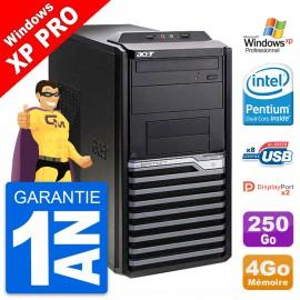 PC Tour Acer Veriton M4630G Intel G3220 RAM 4Go Disque Dur 250Go Windows 10 Wifi