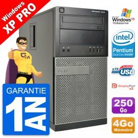 PC Tour Dell 7010 Intel Core i3-2120 RAM 4Go Disque Dur 250Go Windows 10 Wifi
