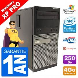 PC Tour Dell OptiPlex 790 MT Intel G630 RAM 4Go Disque Dur 250Go Windows 10 Wifi