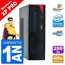 PC Fujitsu Esprimo E520 DT Intel G3220 RAM 4Go Disque Dur 250Go Windows 10 Wifi