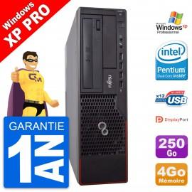 PC Fujitsu Esprimo E700 DT Intel G630 RAM 4Go Disque Dur 250Go Windows 10 Wifi