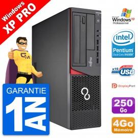 PC Fujitsu Esprimo E720 DT Intel G3220 RAM 4Go Disque Dur 250Go Windows 10 Wifi