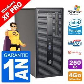 PC Tour HP EliteDesk 800 G1 Intel G3220 RAM 8Go Disque Dur 250Go Windows 10 Wifi