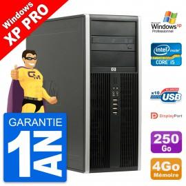 PC Tour HP 8100 Elite Intel Core i5-650 RAM 4Go Disque Dur 250Go Windows 10 Wifi