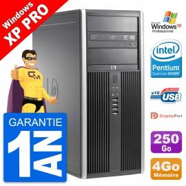 PC Tour HP 8200 Intel G630 RAM 4Go Disque Dur 250Go Windows 10 Wifi