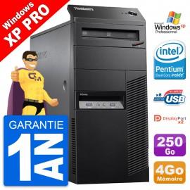 PC Tour Lenovo ThinkCentre M83 Intel G3220 RAM 8Go Disque 250Go Windows 10 Wifi