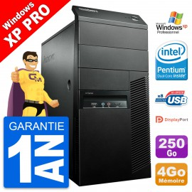 PC Tour Lenovo ThinkCentre M91p Intel G630 RAM 4Go Disque 250Go Windows 10 Wifi