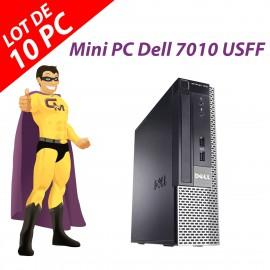 Mini PC Dell Optiplex 7010 USFF G640 RAM 4Go Disque Dur 250Go Windows 10 Wifi