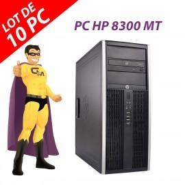 PC Tour HP Elite 8300 Intel Dual-Core G630 RAM 8Go Disque 250Go Windows 10 Wifi