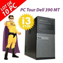 PC Tour Dell OptiPlex 390 MT G630 RAM 4Go Disque Dur 250Go HDMI Windows 10 Wifi