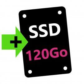 OPTION : Ajout Disque SSD 120Go