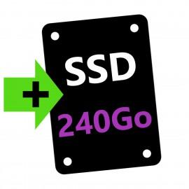 OPTION : Ajout Disque SSD 240Go