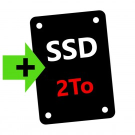 OPTION : Ajout Disque SSD 2To
