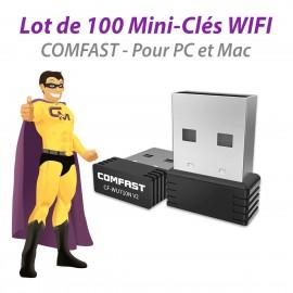 Mini Clef WIFI USB 2.0 COMFAST CF-WU710N V2 Haut-Débit 802.11ABGN 150Mbps NEUF