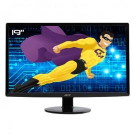 """Ecran PC Pro 19"""" ACER S191HQLFb ET.XS1HE.F01 WideScreen TFT VGA VESA 16:9"""