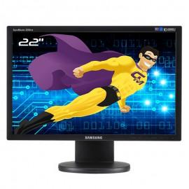 "Ecran 22"" SAMSUNG SyncMaster 2243EW LS22MYDEBC/EDC VGA DVI 1680x1050 Wide 16:10"