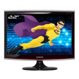 "Ecran PC 22"" SAMSUNG SyncMaster T220 LS22TWHSUV/EN TFT TN VGA DVI-D Wide 16:10"