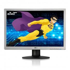 """Ecran PC Pro 22"""" LG Flatron W2242PE-SST LCD TFT TN VGA DVI-D WideScreenn 16:10"""