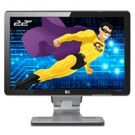 "Ecran PC Pro 22"" HP w2207 HSTND-2271-F LCD TFT VGA DVI-D USB VESA Wide 16:10"