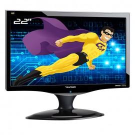 """Ecran PC 22"""" ViewSonic VX2260wm VS12264 TFT TN VGA DVI-D HDMI WideScreen 16:9"""