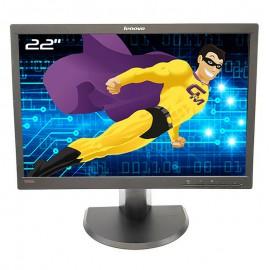 "Ecran PC Pro 22"" Lenovo ThinkVision L2251pwD 45J8743 LCD VGA DisplayPort 16:10"