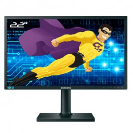 "Ecran PC Pro 22"" SAMSUNG S22E450MW LS22E45KMWV/EN DVI-D VGA WideScreen 16:10"