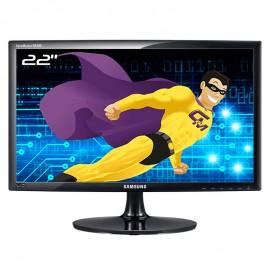 """Ecran 22"""" SAMSUNG SyncMaster SA300 S22A300B LED TFT TN VGA DVI-D WideScreen 16:9"""
