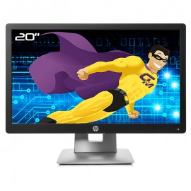"Ecran PC 20"" HP EliteDisplay E202 813114-100 WLED HDMI DisplayPort VGA USB Wide"