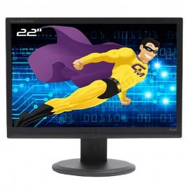 "Ecran PC 22"" iiyama Prolite B2206WS PLB2206WS-B1 LCD TFT TN VGA DVI-D 16:10 Wide"