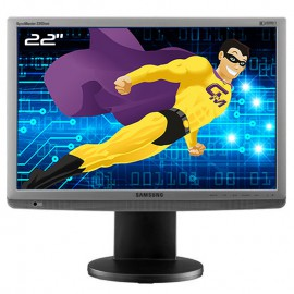 """Ecran 22"""" SAMSUNG SyncMaster 2243WM LS22MYMESQ/EDC Wide VESA 16:10 VGA DVI -D"""